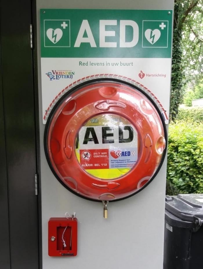 AED in de wijk Brienenshof