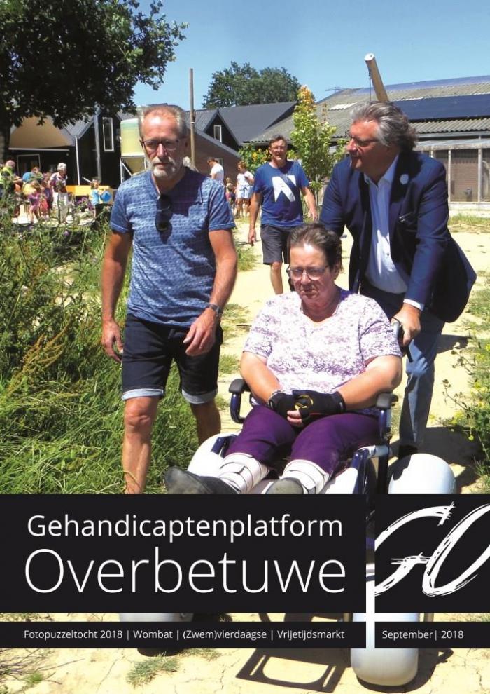 SGO Nieuwsblad September 2018 is nú te lezen