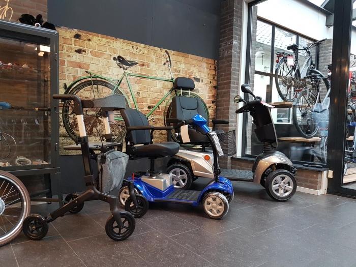 Kymco Scootmobielen en Rollators vanaf nu verkrijgbaar bij Van Dam Tweewielers