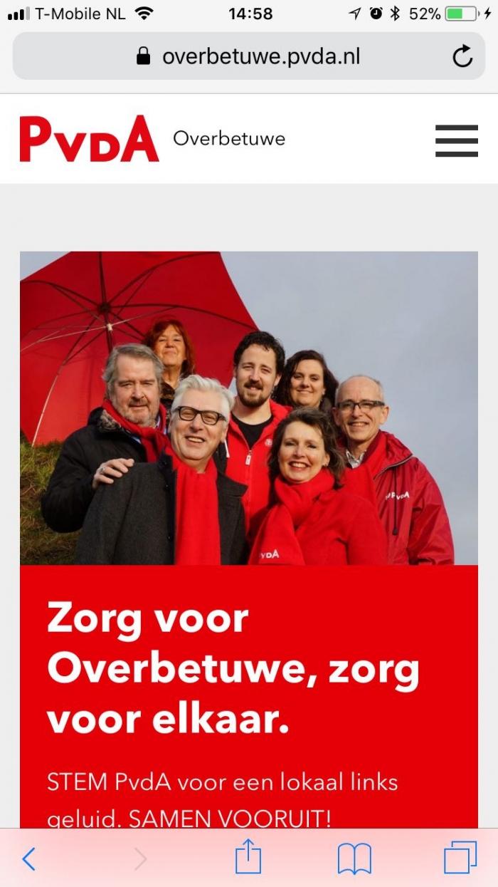 Stem 21 maart lokaal links